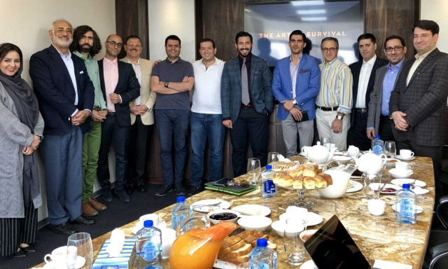 "OPPMAKR Breakfast Guests Discussed ""The Art of Survival"" for Iranian Companies"