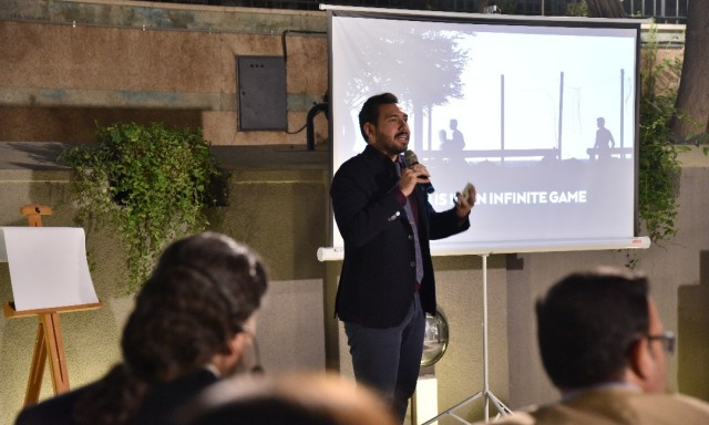 Reza Ghiabi at the Opening Ceremony of Idea Designers Magazine