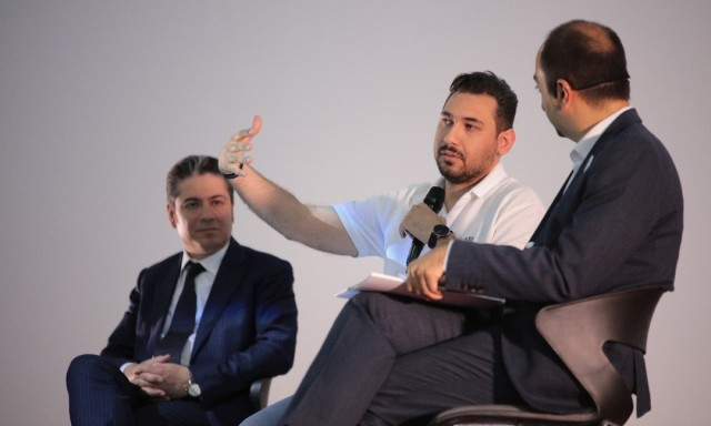 Reza Ghiabi Talked at the Annual Event of the Shaparak Consulting School