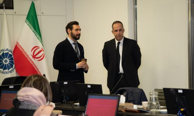 Reza Ghiabi at the Iran Suisse Chamber of Commerce