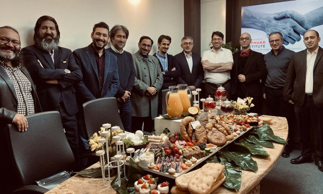 Iranian Elites at the Oppmakr Breakfast